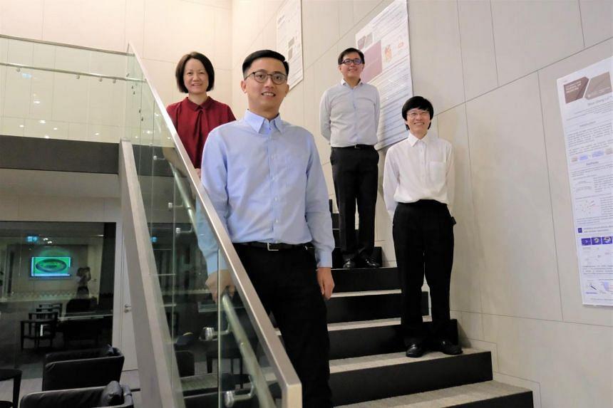 (Clockwise from top left) NTU's Associate Professor Ling Xing Yi and Associate Professor Tan Nguan Soon; Associate Professor Tan Hak Koon, obstetrics and gynaecology chairman at KK Women's and Children's Hospital; and NTU PhD student Kao Ya-Chuan.