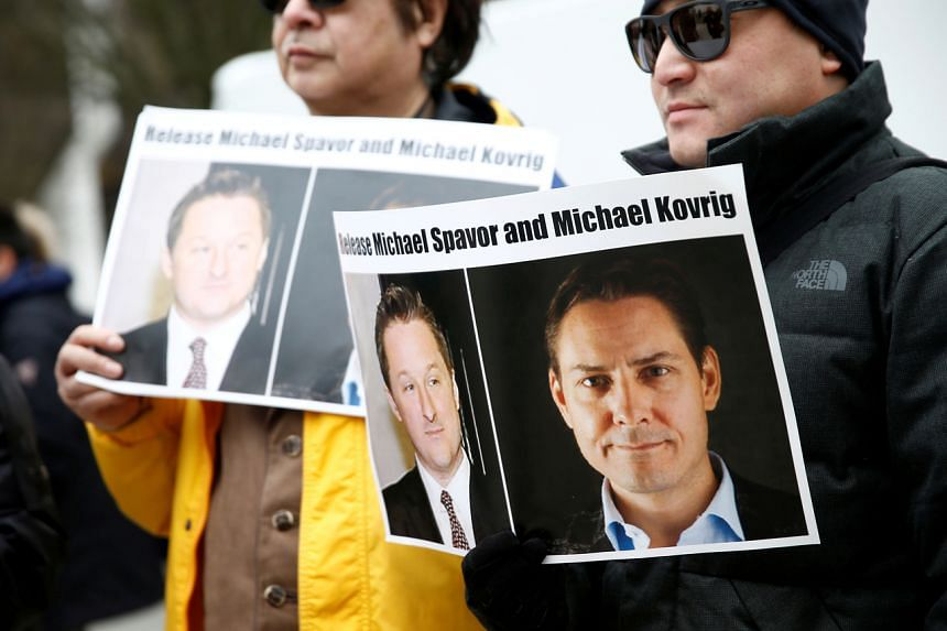Former diplomat Michael Kovrig and businessman Michael Spavor were arrested in late 2018.
