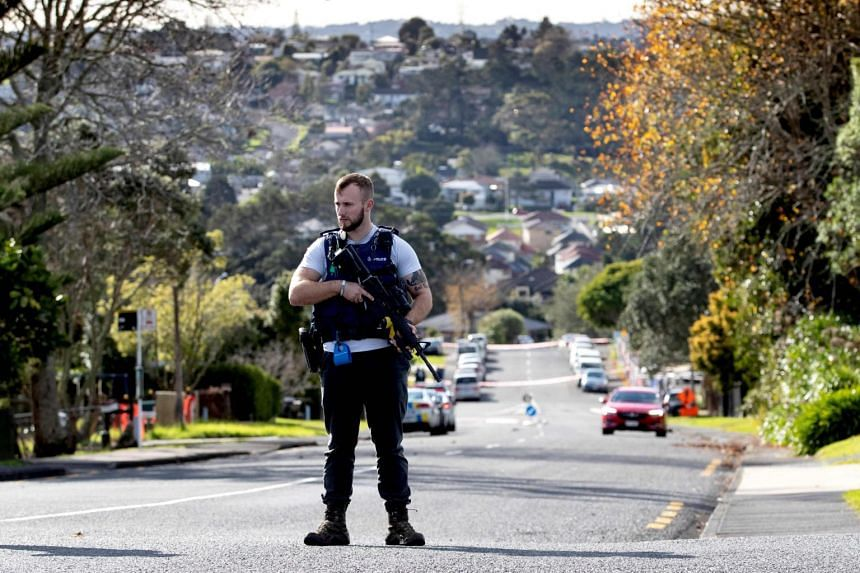 Police officer died in New Zealand's West Auckland shooting incident