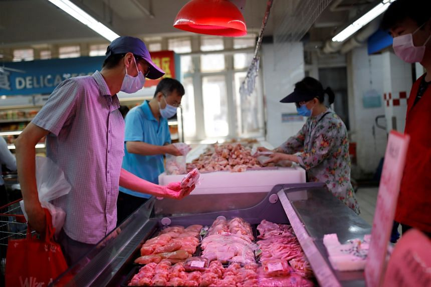 Beijing began testing imported food for the coronavirus after an outbreak in a wholesale food market last week.