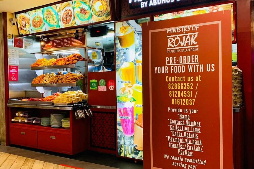 Revenue at the popular Ministry of Rojak stall in Northpoint City remained consistent.