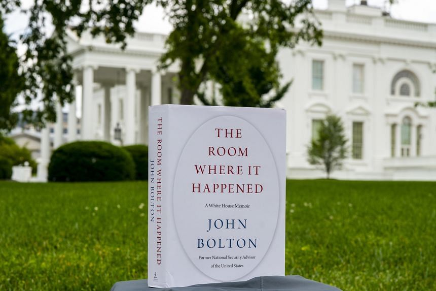 The book is John Bolton's portrait of President Donald Trump after seeing him up close for 17 months.