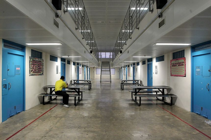 The prison inmate was admitted to Changi Prison Complex on June 6, 2020.