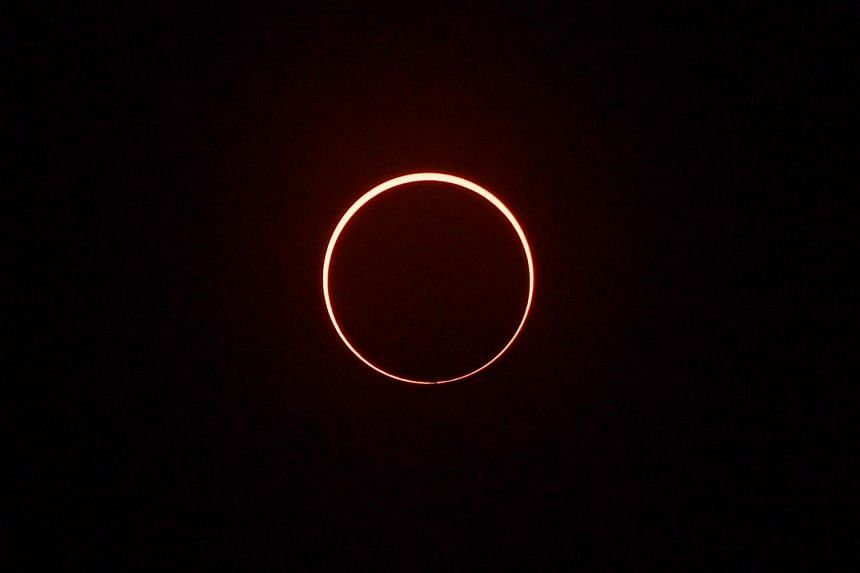 A full solar eclipse seen in Singapore on Dec 26, 2019.