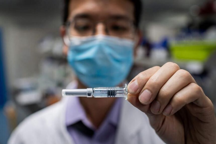 The phase two trial will determine the shot's dose and continue to evaluate if the vaccine can safely trigger immune responses in healthy people.
