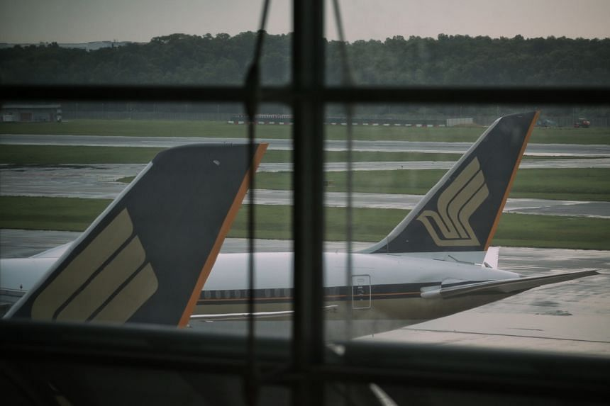 SIA stressed that the transfers are only for flights flying out of the approved cities.
