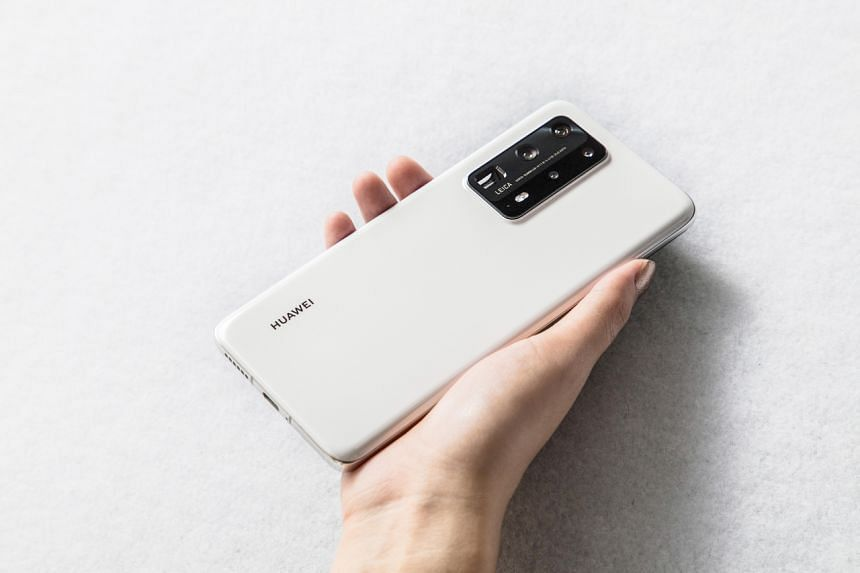 The P40 Pro+ is only available in ceramic white with 512GB internal storage.