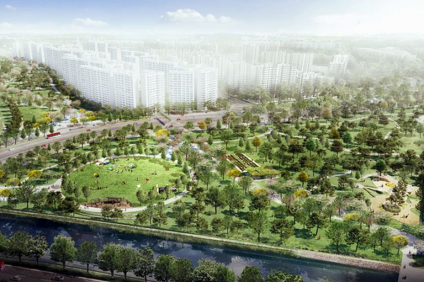Residents will get to enjoy more greenery, with a new park slated to be built by 2022.