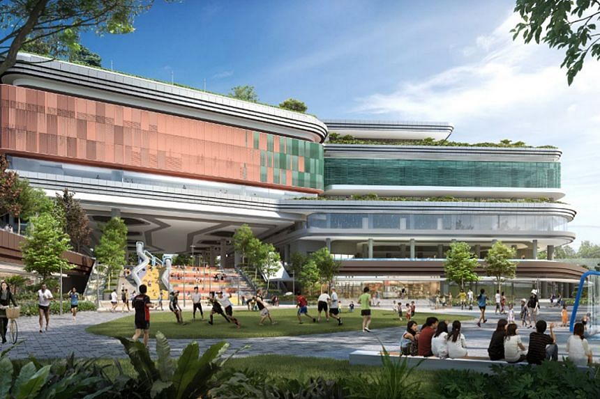 The Punggol Regional Sports Centre is scheduled to be ready by 2023.