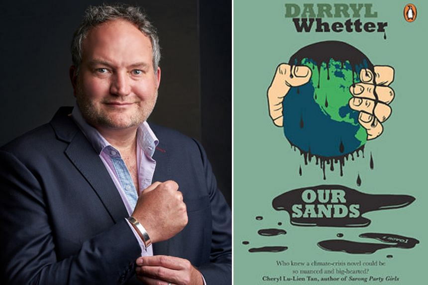 Singapore-based Canadian writer Darryl Whetter's new novel, Our Sands, set in the tar sands of Alberta, Canada, is a Romeo-and-Juliet-esque tale of two idealistic young ecological saboteurs.