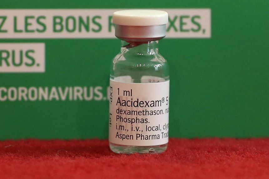 South African drug company Aspen said it could provide 10 million dexamethasone tablets within a month.