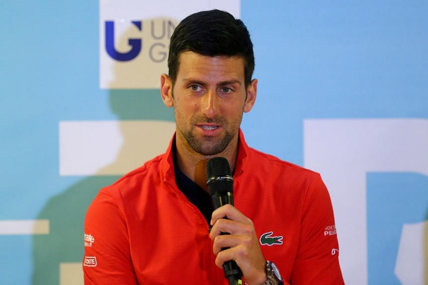 Novak Djokovic was not obliged to take the test in Croatia as he had no symptoms.
