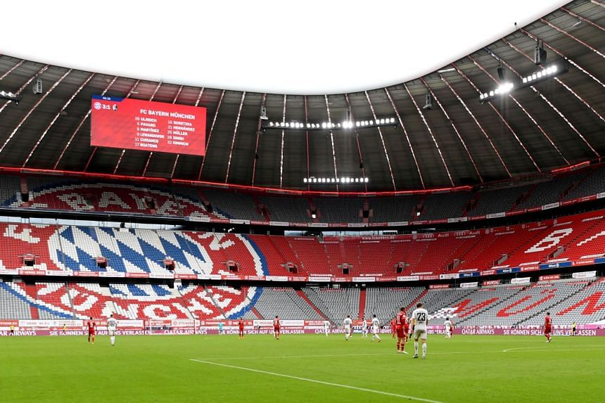 Bayern should expected their annual turnover to drop by about €50 million due to the pandemic.