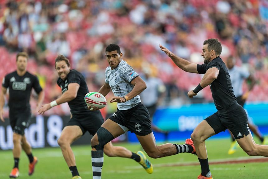 Fiji's Ratu Meli Derenalagi in action at the 2019's HSBC Singapore Sevens at the National Stadium. Regarding the planning for this year's tournament, national sports agency SportSG said it and its partners are monitoring the local and international C