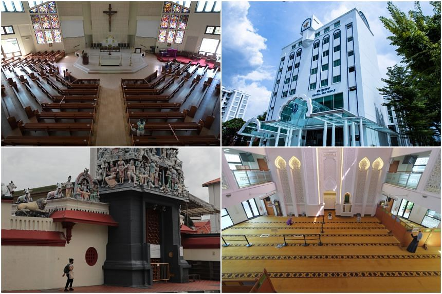 Places of worship are required to submit a Safe Management plan.