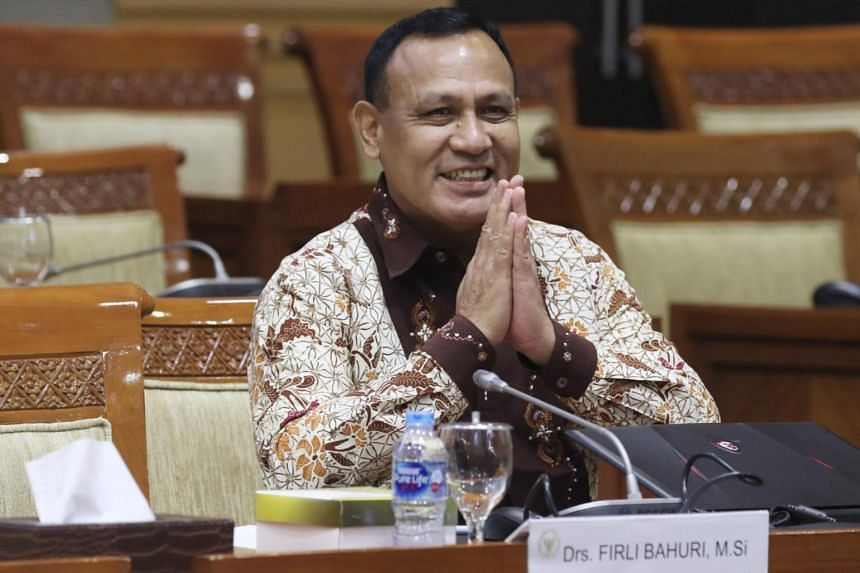 """Indonesia's Corruption Eradication Commission chairman Firli Bahuri reportedly engaged in a """"hedonistic lifestyle"""" by flying in a private helicopter on a personal trip last week."""