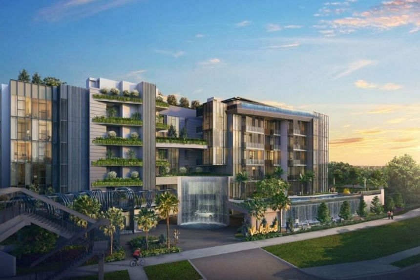 Van Holland offers a mix of unit types and sizes ranging from 495 square feet to 1,991 sq ft and is expected to be ready for move-in in March 2023.