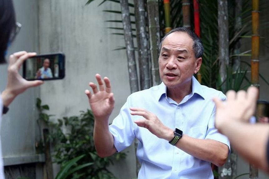 Former Workers' Party chief Low Thia Khiang during an interview on June 25, 2020.