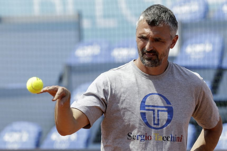 Former Wimbledon champion Goran Ivanisevic said that after two negative tests, he had now tested positive.