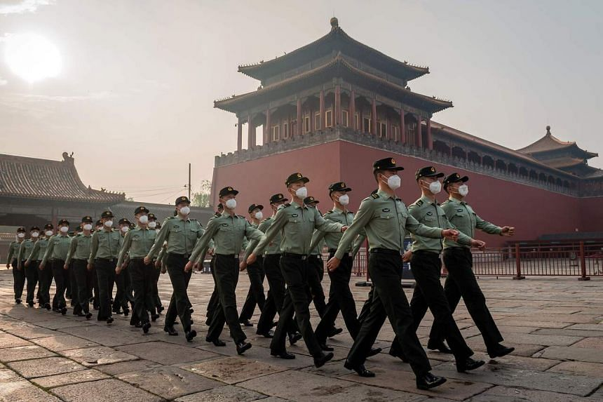 China's military assertiveness reflects a growing sense of confidence and capability.