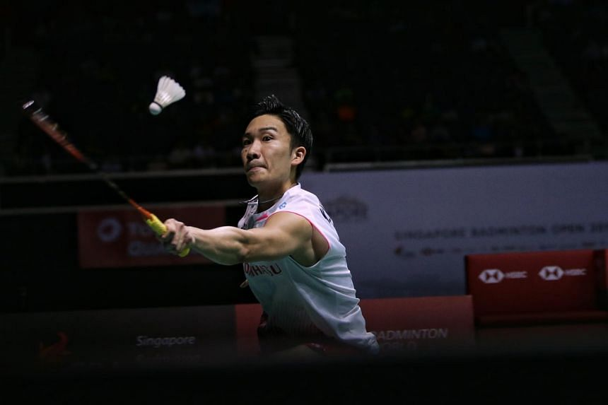 Kento Momota said he has been training hard to stay positive and focus on victory at the Games.
