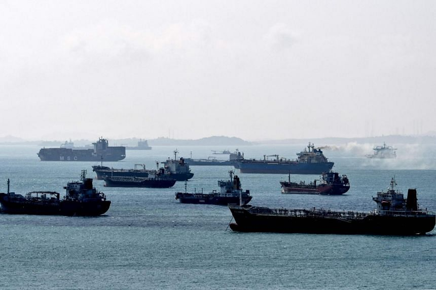 Some of the tankers idling off Singapore were booked for three-month storage plays earlier in 2020.