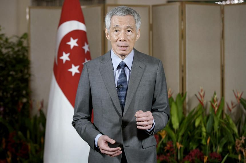 """PM Lee emphasised the importance of """"vaccine multilateralism"""" in the fight against Covid-19."""