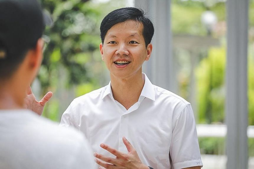 Mr Ivan Lim, 42, drew criticism online after he was introduced as a PAP candidate.