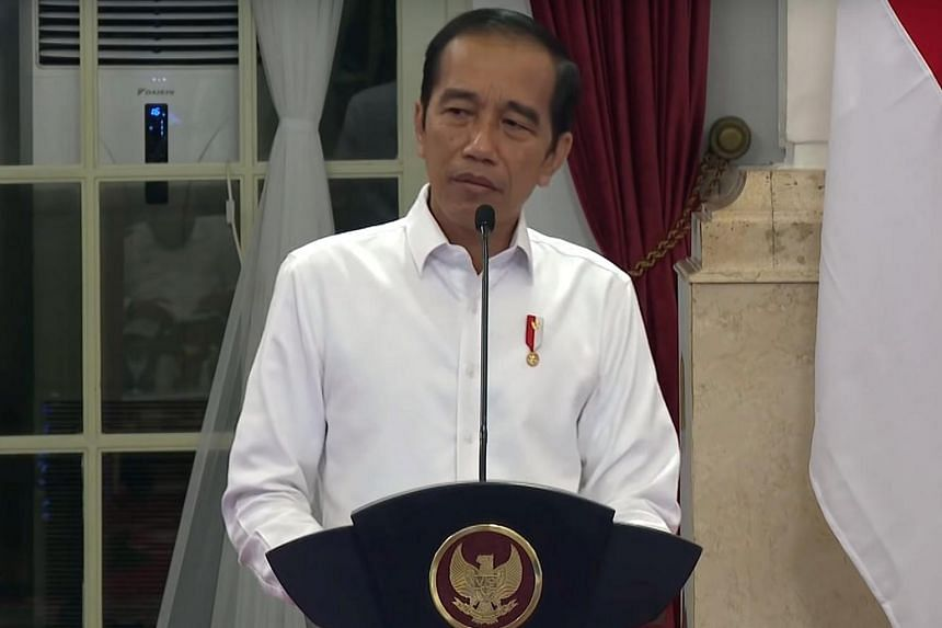Indonesia's president Joko Widodo complained to his ministers of slow government spending in the face of a dire global economic outlook.