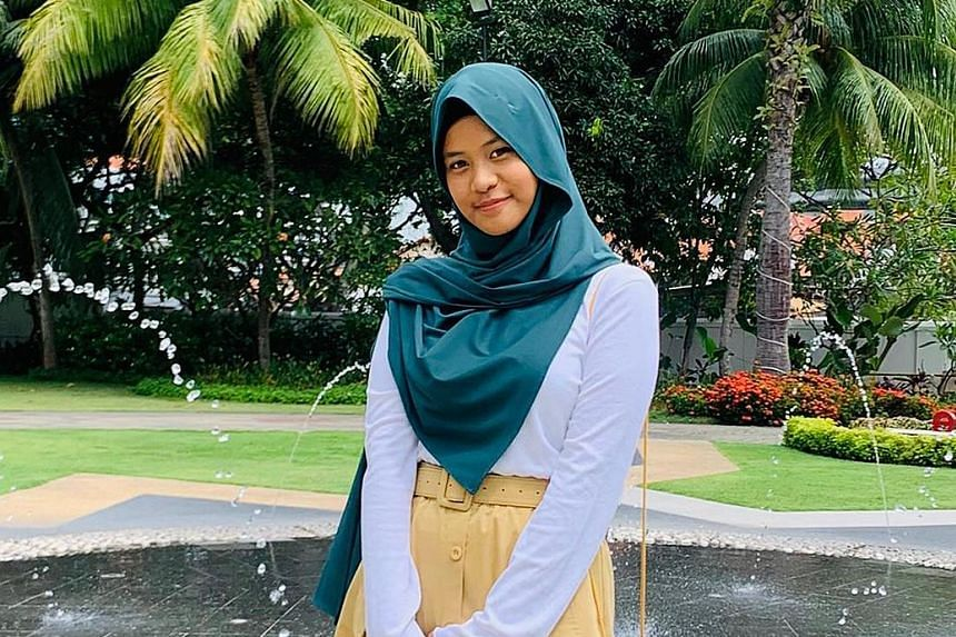 Institute of Technical Education graduate Noraz Marsya Azimi, 20, hopes to make a career out of working with children because she finds it very meaningful.