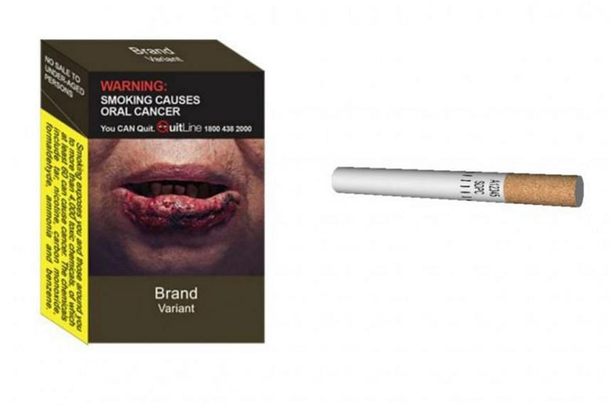All logos, colours, images and promotional information on the packaging of tobacco products should be removed.