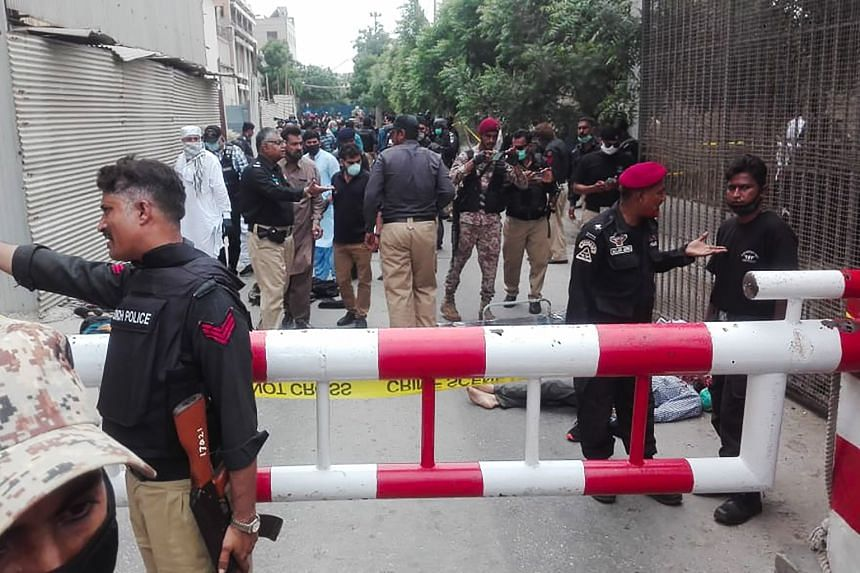 Four gunmen killed after attacking Pakistan Stock Exchange