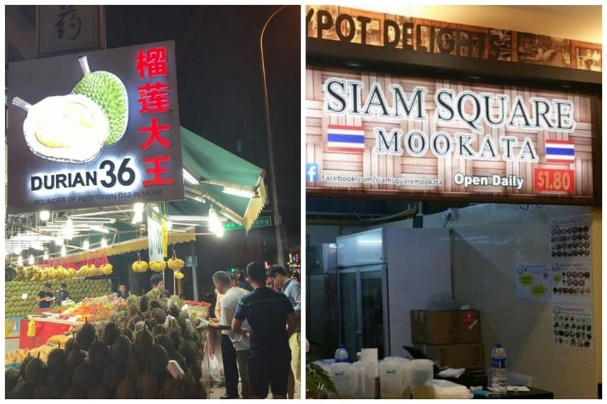 A durian stall in Geylang and Thai eatery in Bukit Batok among places visited by Covid-19 patients.