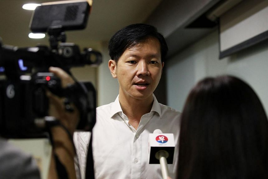 """Mr Ivan Lim said he was stepping down, as the allegations surrounding him had """"eclipsed the core issues"""" of the election."""