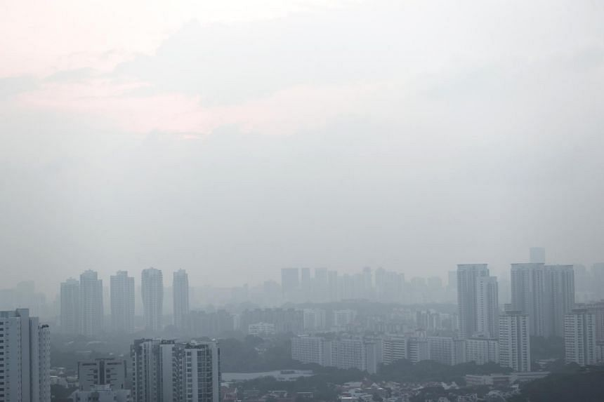 A Pollutant Standards Index value of 101 or greater for 24 hours or more is defined as unhealthy in Singapore.