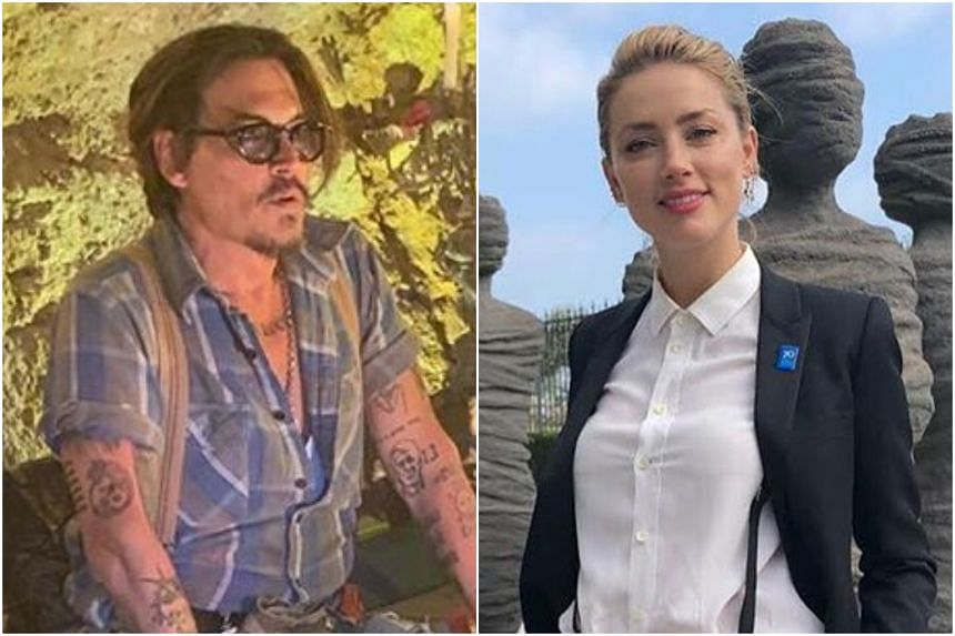 Johnny Depp (left) and Amber Heard's divorce was finalised in 2017.