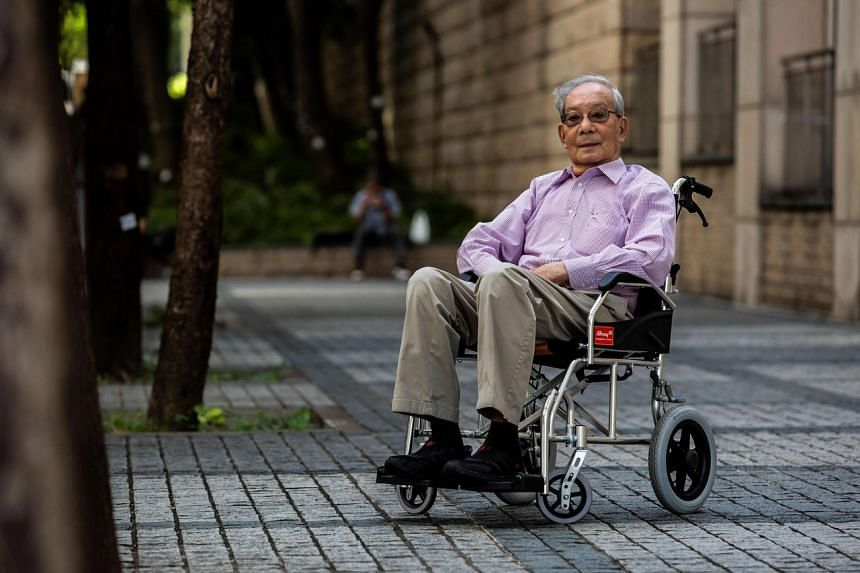 Mr Lau Man-shing said Hong Kongers had been left with little choice after years of peaceful protests achieved little.