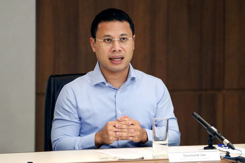 Incumbent Minister for Social and Family Development Desmond Lee was not included in the Jurong GRC line-up announced on June 29, 2020.
