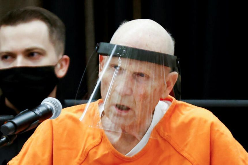California Golden State Killer's Hearing Took Place in a Ballroom