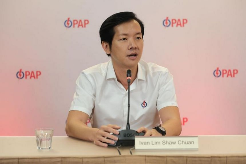 Ex-People's Action Party candidate Ivan Lim.