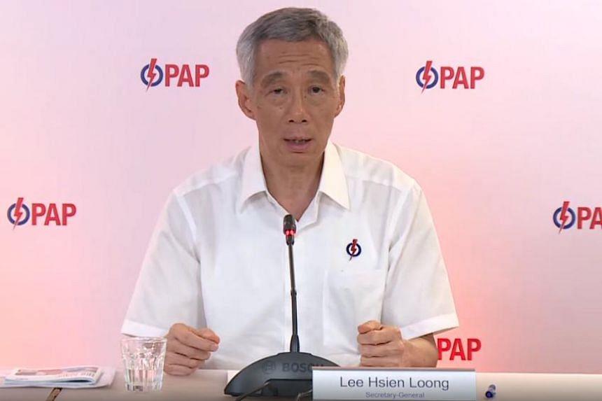 PM Lee said the PAP expects a tough fight because of the pain and uncertainty felt by people due to the pandemic.