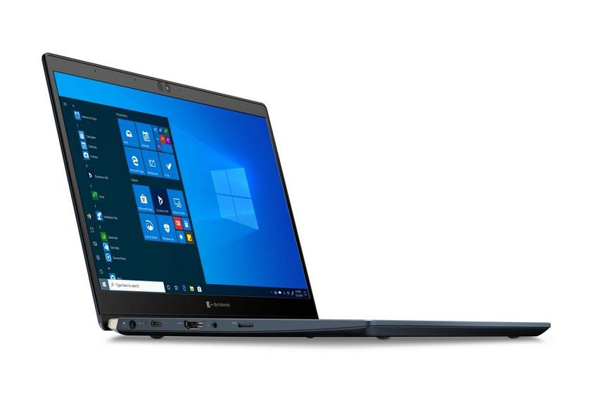 Dynabook says the X30L-G is the world's lightest 13.3-inch laptop with a 10th-generation Intel Core processor.