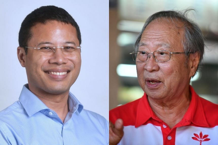 Minister for Social and Family Development Desmond Lee (left) will join the PAP team for West Coast GRC. The GRC is contested by Dr Tan Cheng Bock and his PSP team.