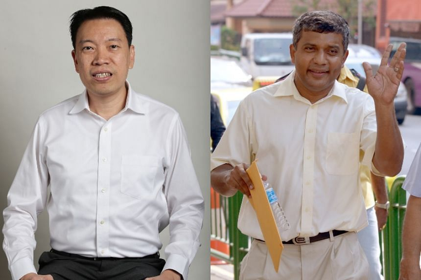 PAP's Melvin Yong will take on Reform Party's Kumar Appavoo in Radin Mas SMC.