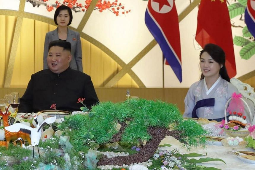"""Provocative imagery of Mr Kim Jong Un's wife Ri Sol Ju reportedly served as """"the last straw"""" for the North."""