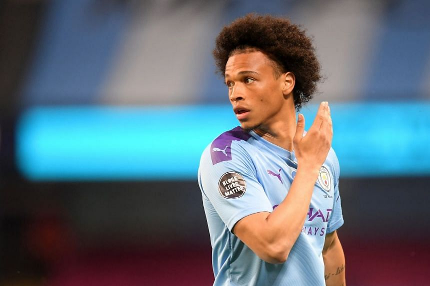 Sane (above) is set to sign a five-year deal with the German club.