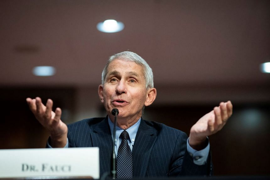 Anthony Fauci speaks during a Senate Health, Education, Labour and Pensions Committee hearing in Washington, June 30, 2020.