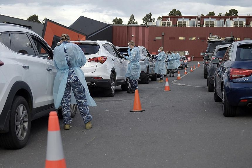 Guards slept with people quarantined in Melbourne hotels, say reports