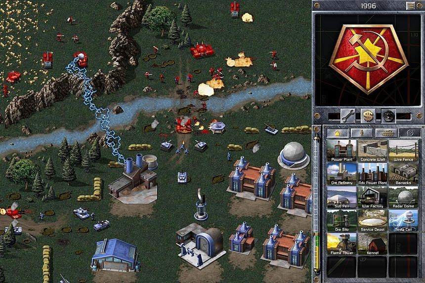 The Command & Conquer Remastered Collection comprises Tiberium Dawn and Red Alert (above).