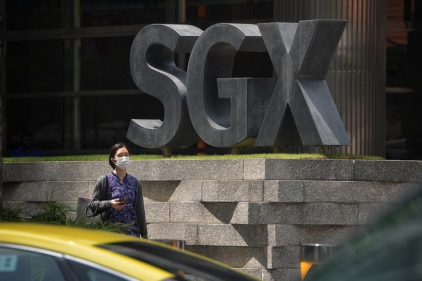 The SGX in Shenton Way. The pandemic and the subsequent slump in economic activity caused by the circuit breaker have weighed down Singapore's initial public offerings (IPOs) market. But Ms Carmen Lee, head of OCBC Investment Research, said some of t